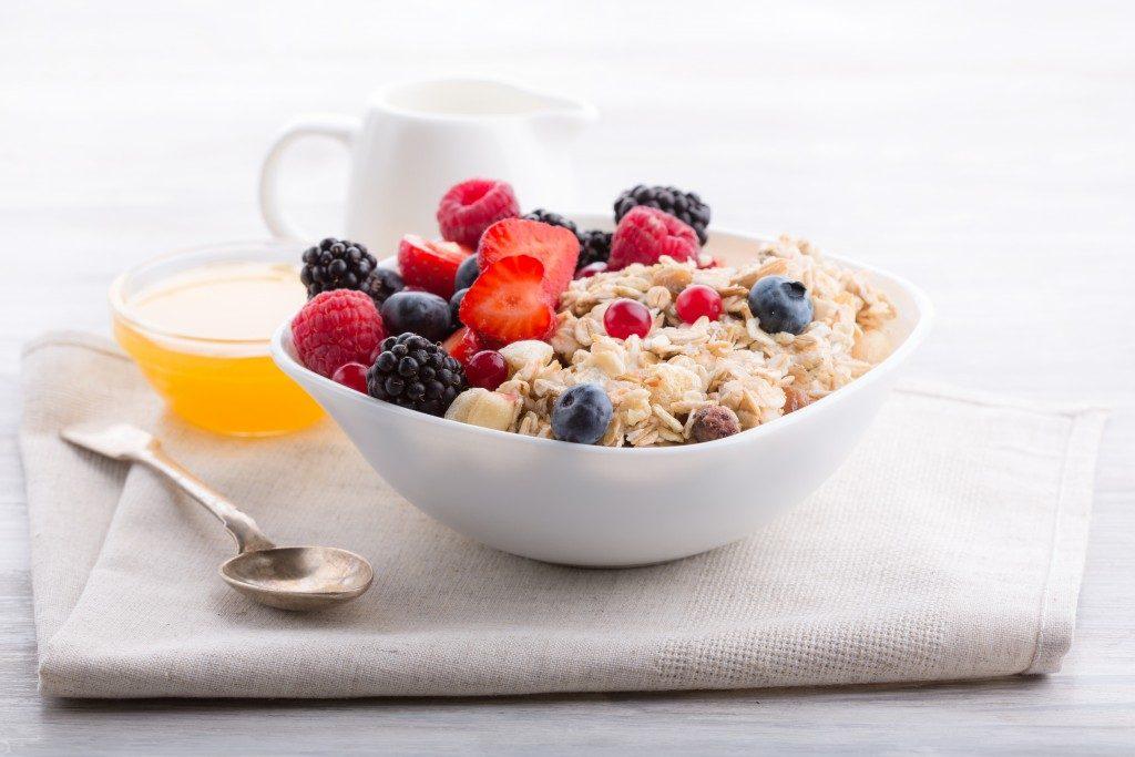 oatmeal dish