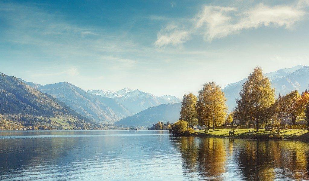 lake in austria