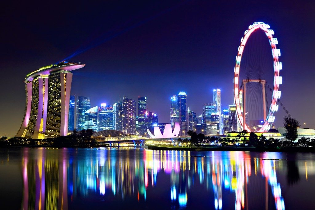 Singapore Night Lights