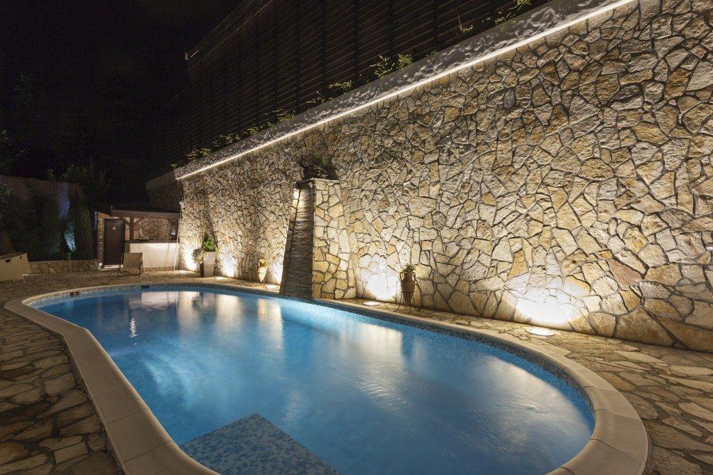 house swimming pool