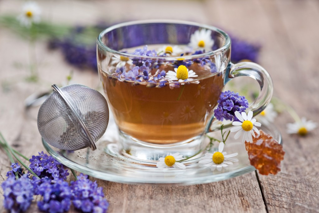 lavender and chamomile tea
