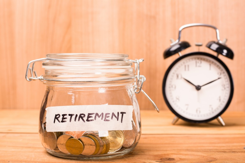 Retirement savings in a jar