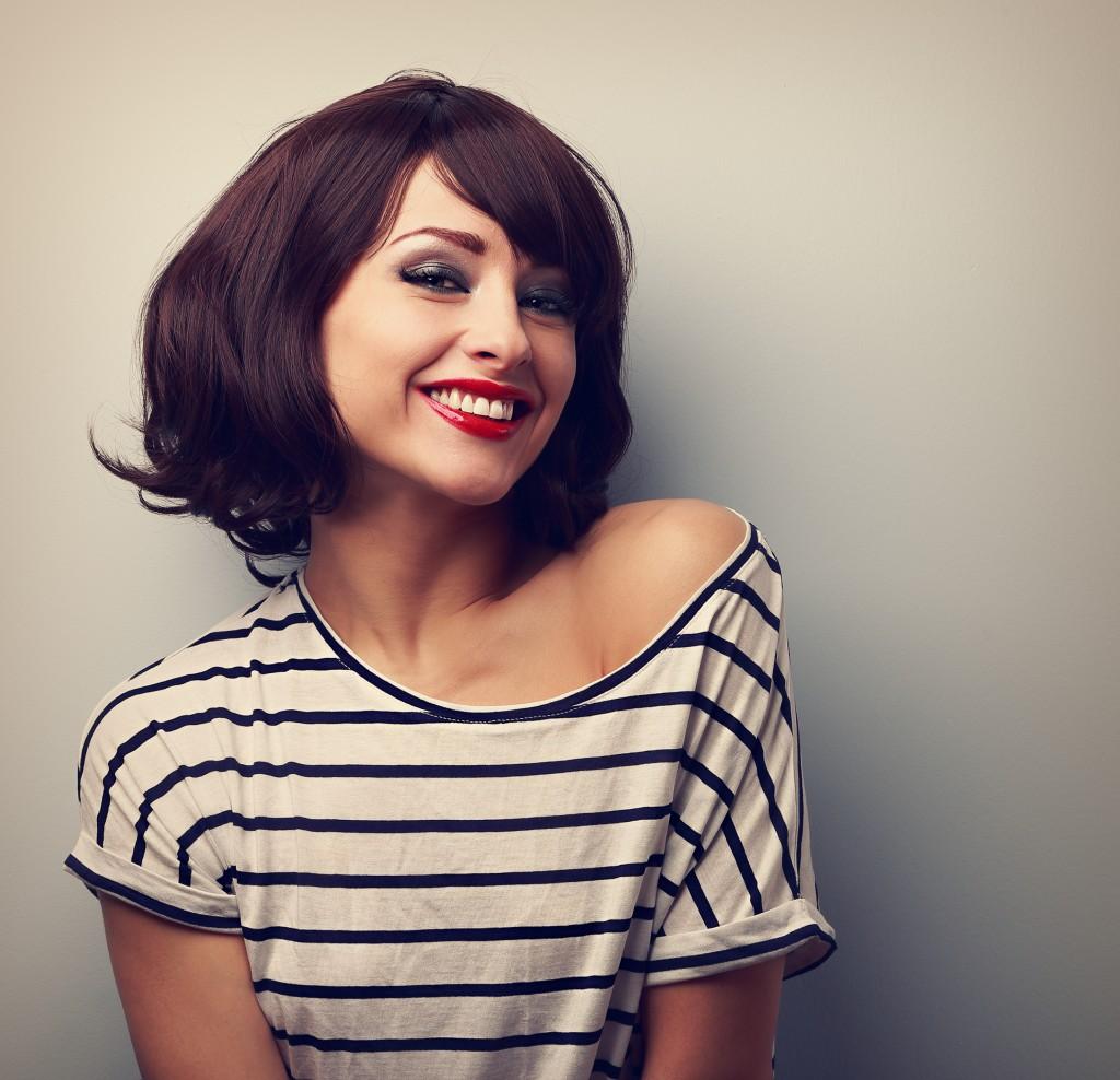 woman with nice hair